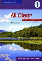 Helen Kalkstein Fragiadakis - All Clear 1. Listening and Speaking (Book with Answer Key)