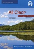 Helen Kalkstein Fragiadakis - All Clear 2. Listening and Speaking (Book with Answer Key)