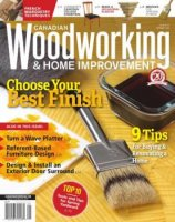 Canadian Woodworking & Home Improvement №119  (2019)